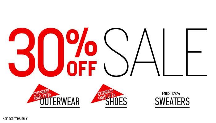 30% Off Sale - Shop Now