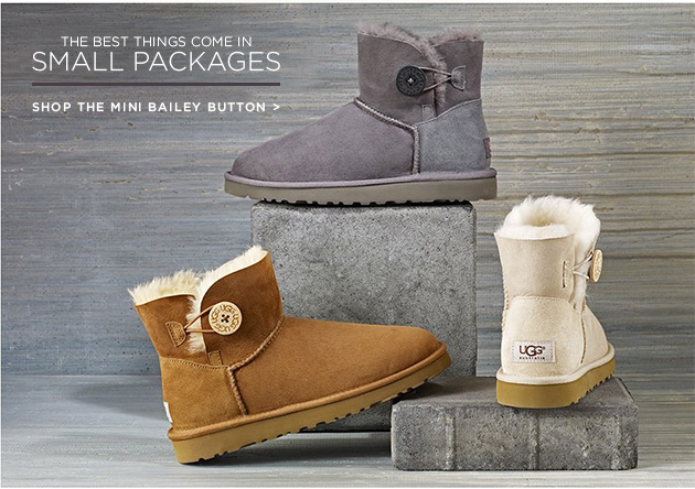 The best things come in small packages - shop the mini bailey button >