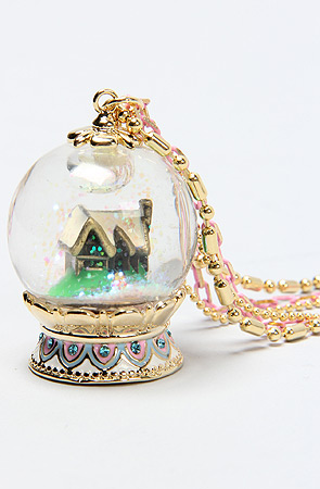 The Snow White's House Necklace