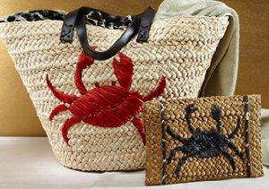 Beach Getaway: Straw Handbags