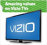 Amazing Savings on Vizio TVs