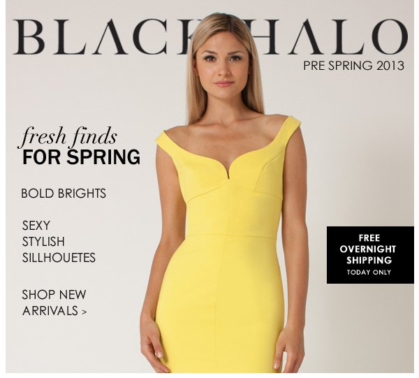 Free Overnight Shipping + Pre Spring 2013