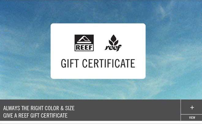 Give an eGift Certificate!