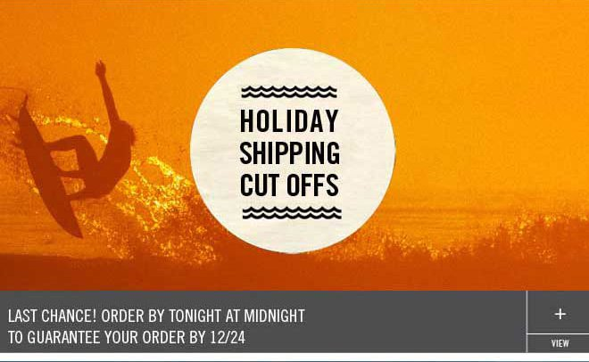 Last Chance to Order for 12/24 Delivery
