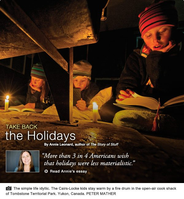 Essay:Take Back the Holidays