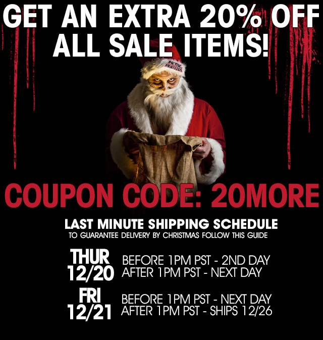 20% Off Sale Items!