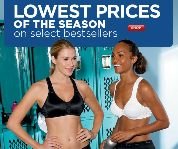 Season's Lowest Prices - Select Women's Styles