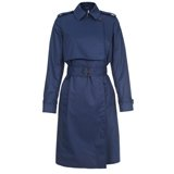 Paul Smith Coats - Navy Belted Mac