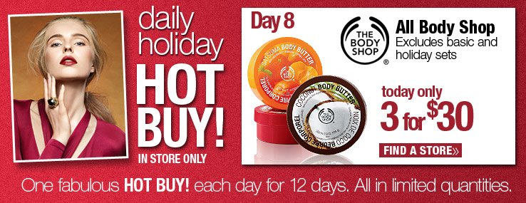 Body Shop 3 for $30