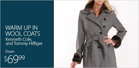 Warm up in Wool Coats