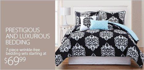Prestegious and Luxurious Bedding