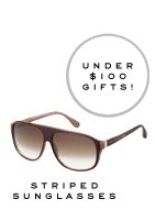 Marc by Marc Jacobs | Striped Sunglasses