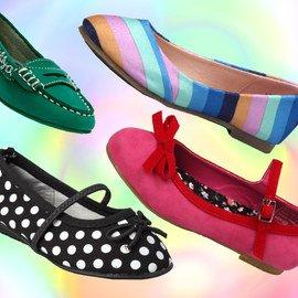 Footloose & Fancy-Free: Girls' Flats