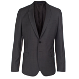 Paul Smith Jackets - Grey Birdseye Wool Jacket