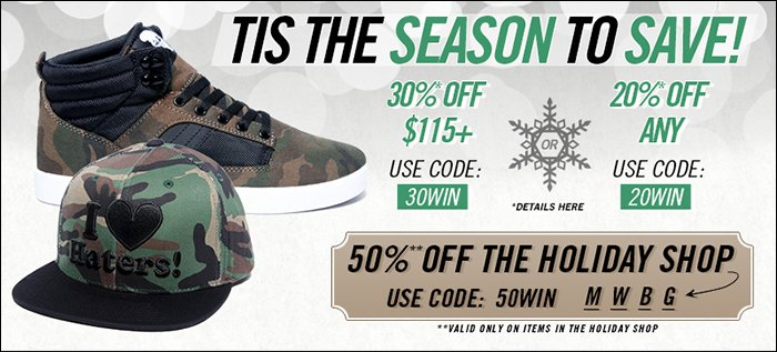 DrJays.com Take 30% Off With Promo Code.