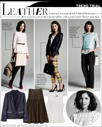 Trend Trial: Leather