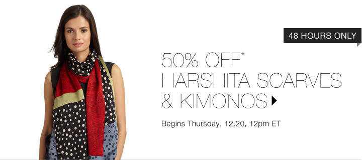50% OFF* HARSHITA…SHOP NOW