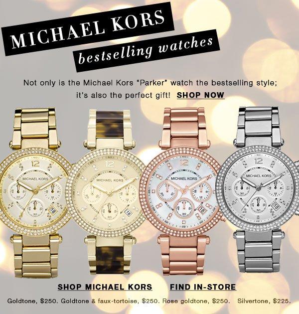 Michael Kors bestselling ladies' watches