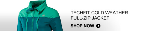 Shop TECHFIT Cold Weather Full Zip Jacket  »