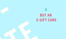 Buy An E-Gift Card