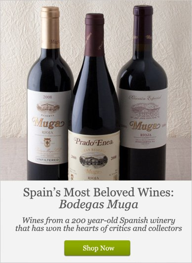 Spain's Most Beloved wines: Bodegas Muga - Shop Now