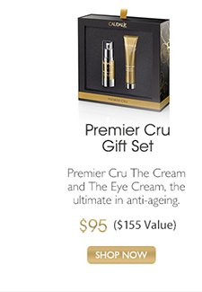 Premier Cru Gift Set: Premier Cru The Cream and The Eye Cream, the ultimate in anti-ageing, $95 ($155 Value) -- SHOP NOW