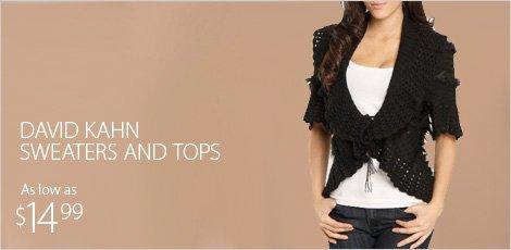 David Kahn Sweaters & Tops