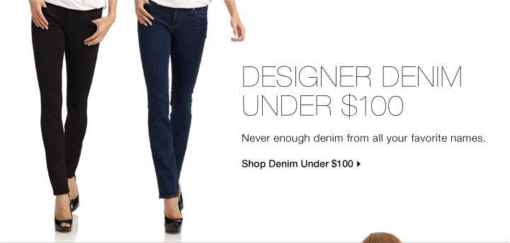 Designer Denim Under $100
