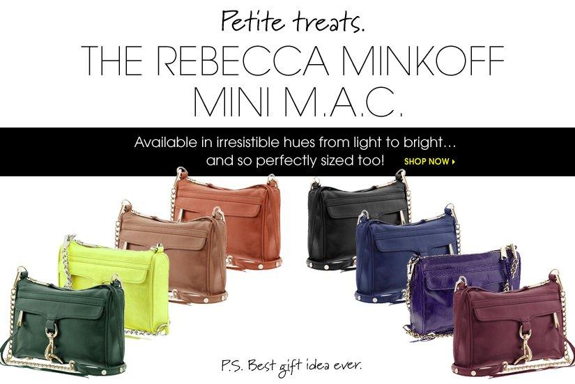 THE REBECCA MINKOFF MINI M.A.C. SHOP NOW