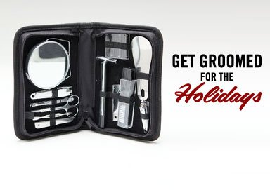Shop Get Groomed for the Holidays