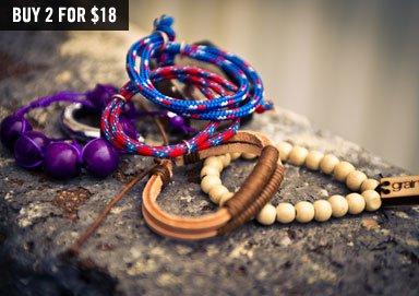 Shop Bracelets ft. Grain