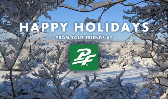 Seasons Greetings from your friends at PF Flyers