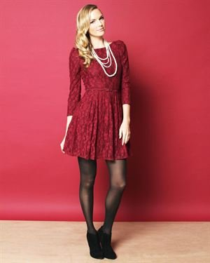 Ark & Co. Belted Lace Dress