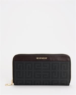 Brand New Givenchy Zip-Around Print Wallet
