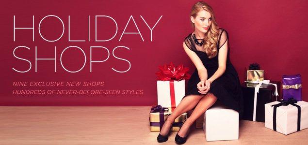 Holiday Shops
