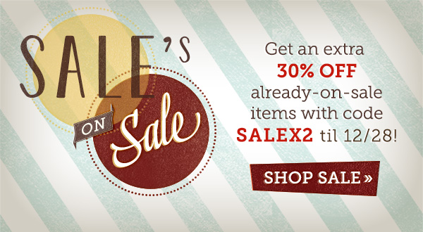 Sale on Sale!