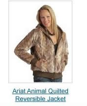 Ariat Animal Quilted