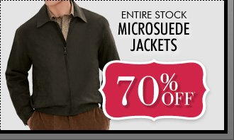 70% OFF* Microsude Jackets
