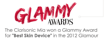 The Clarisonic Mia won a Glammy Award for