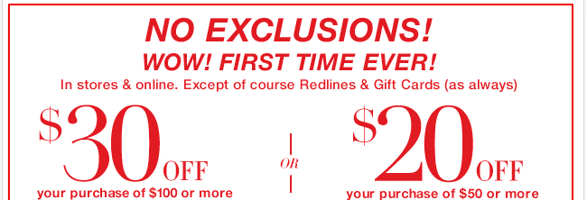 Only ONE day to take advantage of this great coupon offer! Shop Now