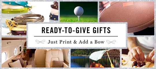 Ready-to-Give Gifts: Just Print & Add a Bow