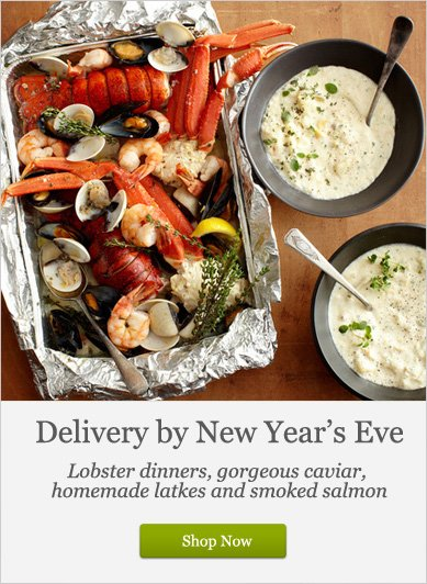 Delivery by New Year's Eve - Shop Now