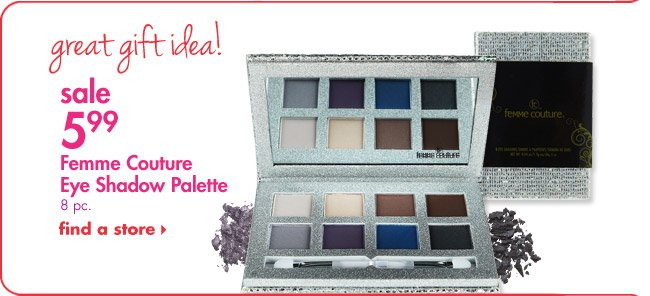Sale $5.99 Femme Couture Eye Shadow Palette