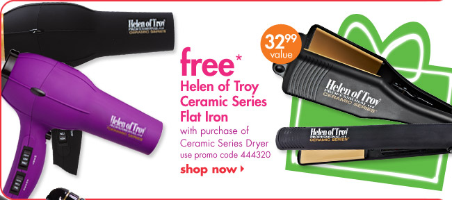 free* Helen of Troy Ceramic Series Flat Iron
