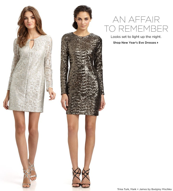 Shop New Year's Eve Dresses