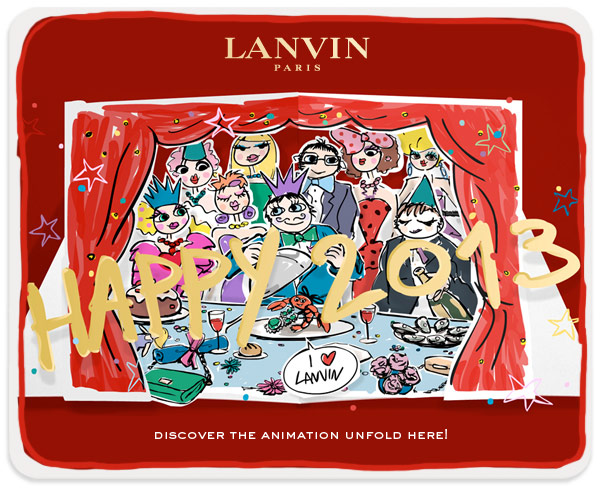 LANVIN HAPPY 2013