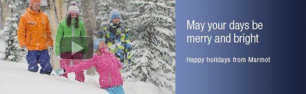 Happy holidays from Marmot