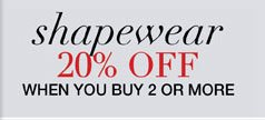 Shapewear 20% Off when You Buy 2 or More
