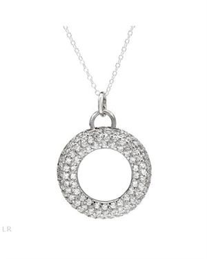Ladies Necklace Designed In 925 Sterling Silver $25
