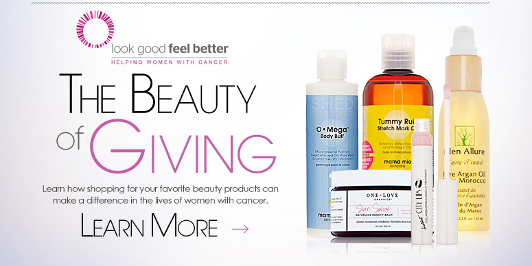 The Beauty of Giving Learn how shopping for your favorite beauty products can make a difference in the lives of women with cancer. Learn More>>